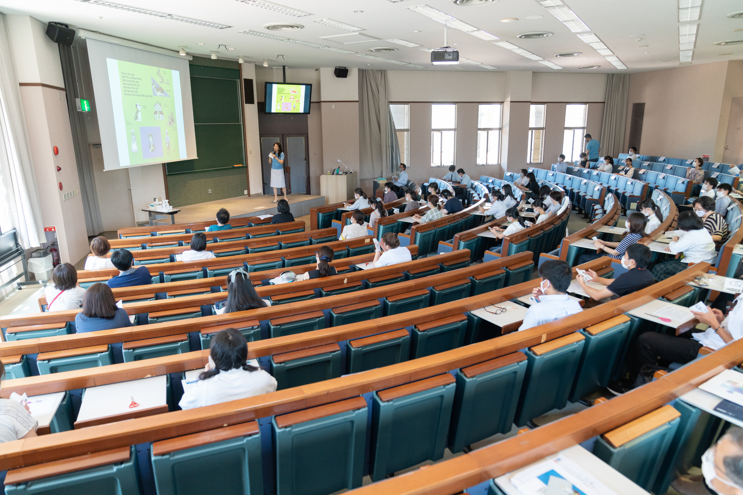 7月19日オープンキャンパス 特別講演会